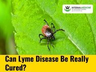 Can Lyme Disease Be Really Cured?