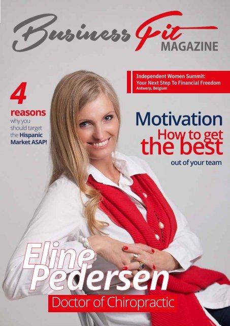 Business Fit Magazine Eline Pedersen