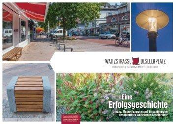 Broschüre BID Waitzstraße / Beselerplatz