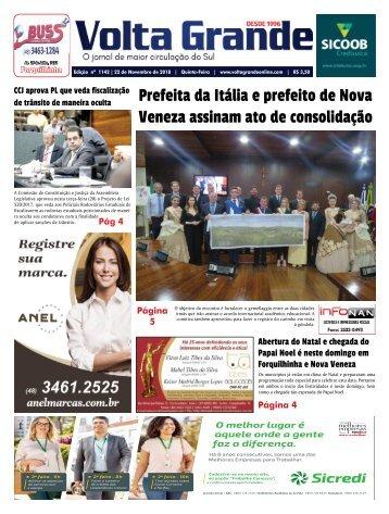 Jornal Volta Grande | Edição1142 Forq/Veneza