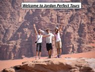 Welcome to Jordan Perfect Tours