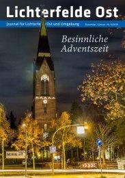 Lichterfelde Ost Journal Dez/Jan 2018