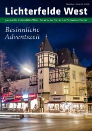 Lichterfelde West Journal Dez/Jan 2018
