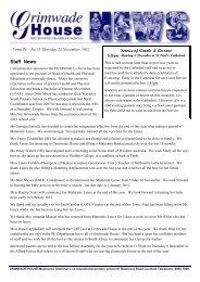 Vol. 35 - 22 November 2012 - Melbourne Grammar School