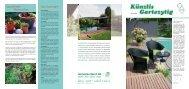 HE07_Innenseiten:Gruppe 1.qxd - Künzli Gartenbau AG