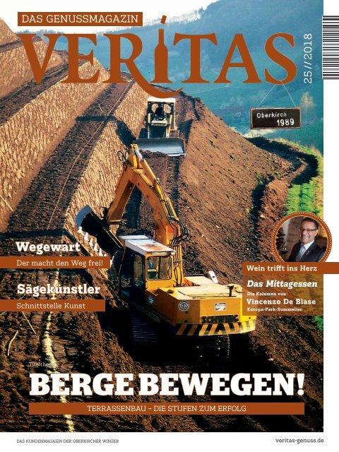 VERITAS - Das Genussmagazin / Ausgabe - 25-2018