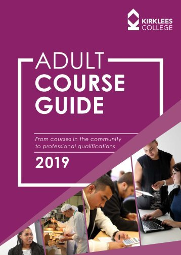 Adult Course Guide January 2019