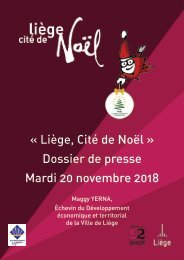 Liège, Cité de Noël 2018
