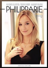 Magazine Philipparie n°3 - Automne Hiver 2018 2019
