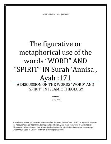 393966663-METAPHORICAL-OR-FIGURATIVE-MEANINGS-OF-THE-WORDS-WORD-AND-SPIRIT-IN-SURAH-ANNISA