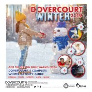 DOVERCOURT WINTER 2019 program guide