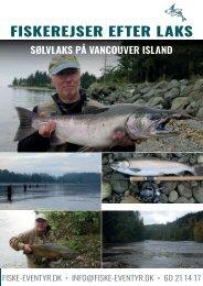 Fiskerejser til Vancouver island 2021 og 2022