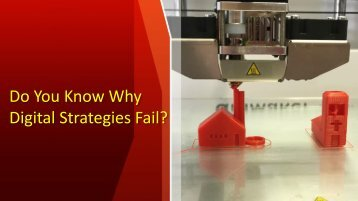 Lameen Witter | Do You Know Why Digital Strategies Fail