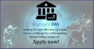 Gaming Merchant Account for an Online Payment Solution by Radiant Pay