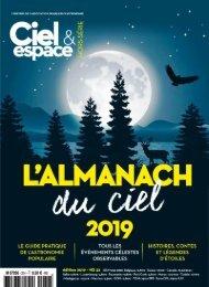 Ciel & Espace-L'almanach du ciel 2019