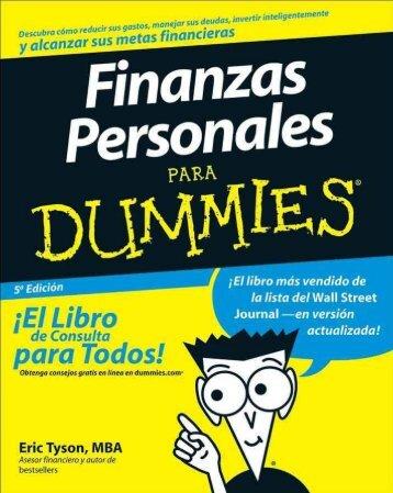 Finanzas personales para Dummies - Eric Tyson-1-30