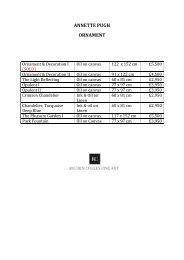 APU - Ornament price list