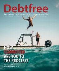 Debtfree Magazine November 2018