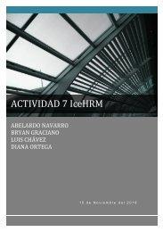 ACTIVIDAD 7 IceHRM