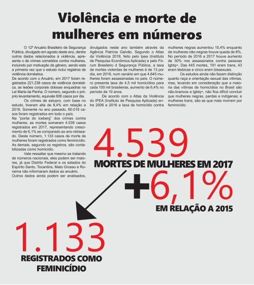 Revista ComTempo, edição nº 2 - de novembro de 2018 a janeiro de 2019