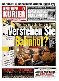 Berliner Kurier 24.11.2018