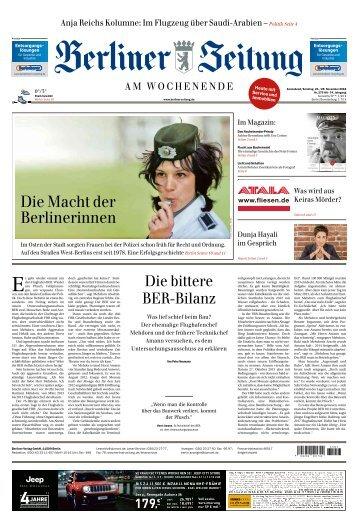 Berliner Zeitung 24.11.2018