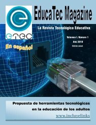 Revista Leidy Villatoro - Educatec Magazine