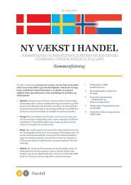 Ny vækSt i HaNDel - DI Handel