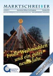Marktschreiber Ausgabe 74 - Dezmeber 2018