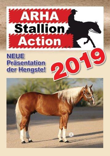 ARHA Stallion Aktion 2019 Katalog