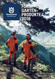 Husqvarna Katalog 2018 FINAL