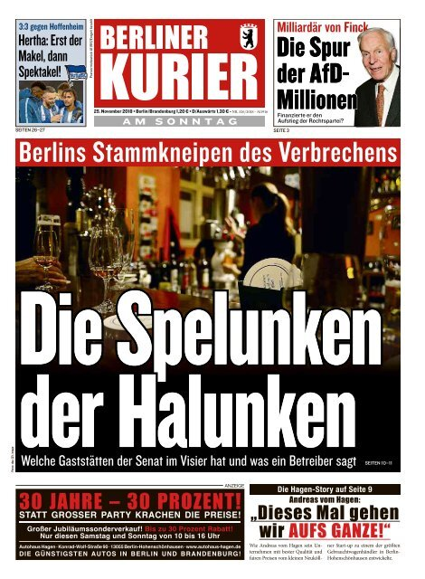 Berliner Kurier 25.11.2018