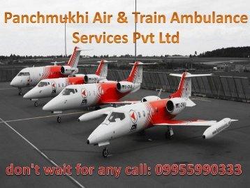 Get Hi-Tech Emergency Air and Train Ambulance Service in Patna and Delhi