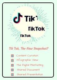 Tik Tok, The New Snapchat?