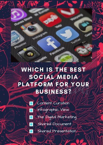 Which is the Best Social Media Platform for Your Business_