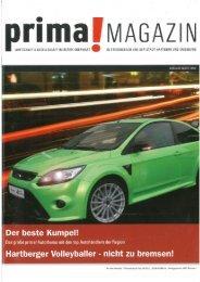 prima! Magazin - Ausgabe März 2010