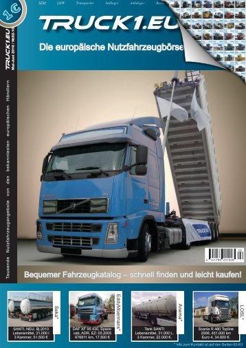 Truck1.eu: Die europäische Online-plattform für Gebrauchtfahrzeuge