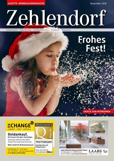 Gazette Zehlendorf Dezember 2018