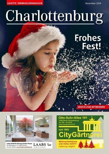 Gazette Charlottenburg Dezember 2018