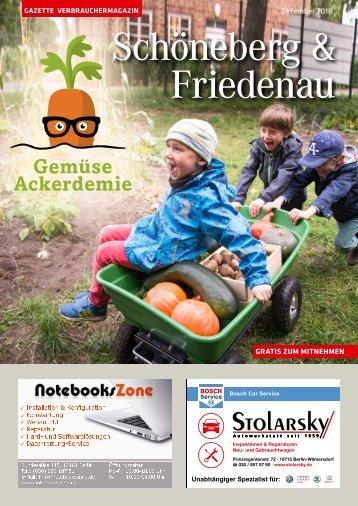 Gazette Schöneberg & Friedenau Dezember 2018
