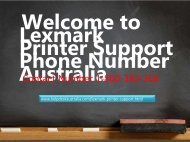 Lexmark Printer Support 1-800-383-368 Phone Number Australia-For 24*7 Tech Help