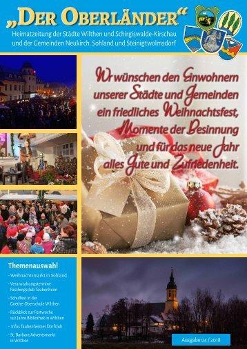 Der Oberländer - Ausgabe 04/2018
