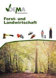 DEMA Forst und Landwirtschaft Prospekt