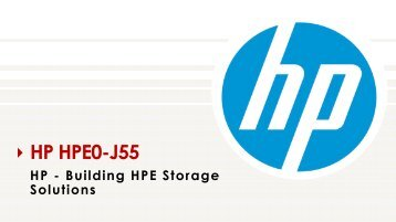 HPE0-J55 Exam VCE Questions