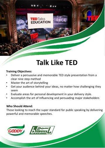 Training Q1 2019 Brochure