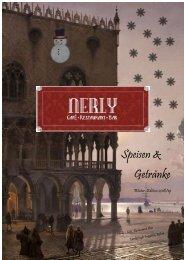 Winterkarte 'Nerly' Speisen & Getränke 2018-19 m.G.