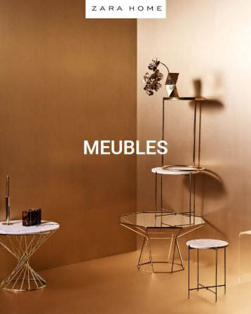 Zara Home catalogue 2018 Meubles