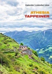 Athesia-Tappeiner Verlag - Kalendervorschau 2020