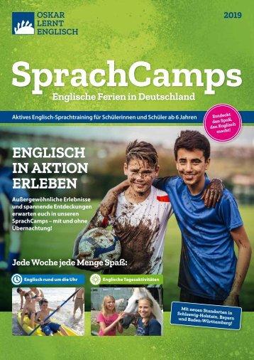 SprachCamps 2019   Oskar lernt Englisch