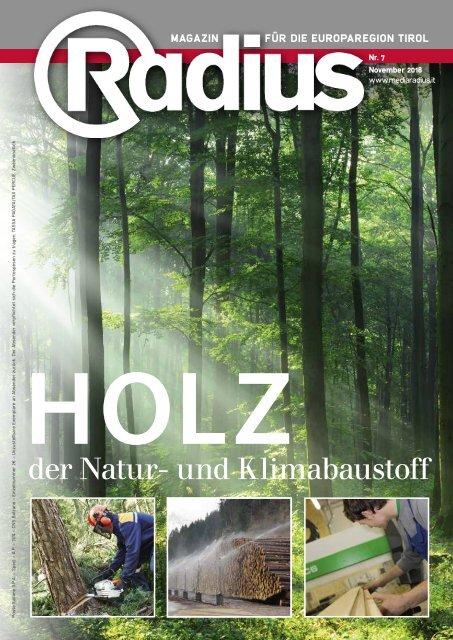 Radius Baustoff Holz 2018